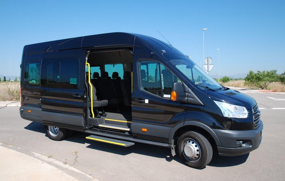 Microbús 12 Plazas FORD TRANSIST